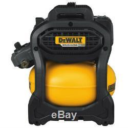 Dewalt Flexvolt 60v Max 2,5 Gal. Compresseur D'air Sans Fil Kit Dcc2560t1r Recon