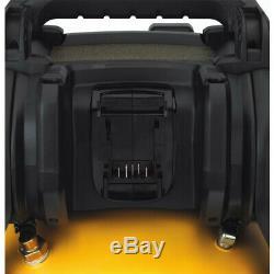 Dewalt Flexvolt 60v Max 2,5 Gal. Kit De Compresseur D'air Sans Fil Dcc2560t1 Nouveau