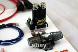 Double Compresseur D'air Câblage Kit 4 Jauge Power Wire Avec Instructions Gratuites 2day Ship