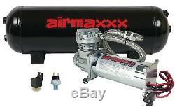 Drainage De Réservoir Du Compresseur D'air 480 Gallons 120 Sur La Suspension D'interrupteur D'airbag À 150 ° C