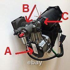 Dunlop Air Suspension Air Compressor Main Repair Kit Discovery 3 4 & Rr Sport