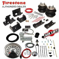 Firestone Ride-rite Air Sacs Airlift Compresseur D'air Pour 07-19 Toyota Tundra Trd