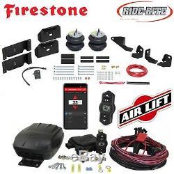 Firestone Tour Rite Air Sacs Airlift Compresseur D'air Pour 17-19 Ford F250 F350 2rm