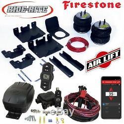 Firestone Tour Rite Sacs & Air Lift Sans Fil Fr 11-19 Silverado Sierra 2500 3500