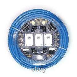 Garage Shop Compressed Air Line Kit Rapid Fit Complete System 100 Pi 1/2