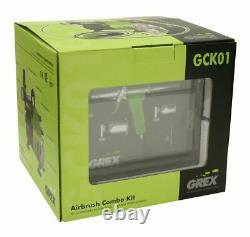 Glex Gck01 Combo Kit Avec Genesis. Aérographe À Compresseur D'air Xt Et Ac1810-a