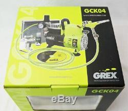 Grex Gck04 Genèse. Xsi3 Airbrush Combo Kit Avec Extras Compresseur Et Tuyau D'air +