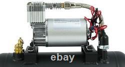 Hornblasters 127h Air Source Kit Avec Compresseur 275c Et Réservoir De 1,5 Gallon