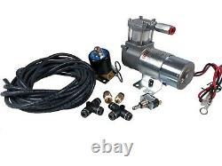 Hornblasters Air Ride Motorcycle Compressor Modification Kit Viair 98c & Valve