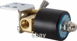 Hornblasters Air Ride Motorcycle Suspension Compressor Kit Viair 380c Pewter