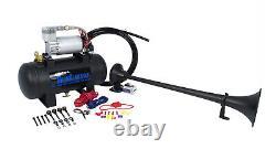 Hornblasters Safety 127h Loud Fire Truck Air Horn Kit Avec Compresseur 1 Trompette