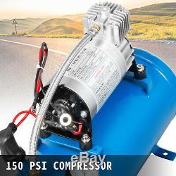 Horns Truck Air Horn Train Kit 12 Volt Avec 6l Compresseur D'air 4 Trompette 150db