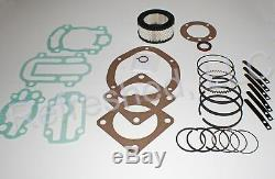 Ingersoll Rand Ir 242 Type 30 Reconstruire Tune Up Kit Compresseur D'air Pièces