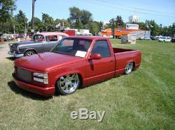 Kit Complet De Suspension Pneumatique 1988-1998 Gm Chevrolet C / K Silverado Niveau 4 Avec Elevel