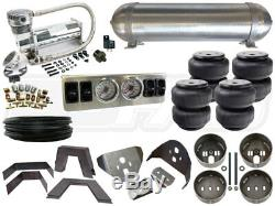 Kit Complet De Suspension Pneumatique 1988-1998 Gm Chevy C / K Silverado Niveau 1 1/4