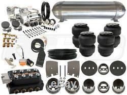 Kit Complet Suspension Air Ride 1963-1965 Buick Riviera Niveau 3 3/8