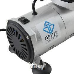 Kit Compresseur D'air Double Action Airbrush 110v Ophir Pour Peinture Modèle
