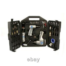 Kit D'outils Compresseur D'air 50pcs Impact Wrench Air Chisel Ratchet Buse Fixation