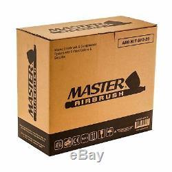 Kit De 3 Compresseurs D'air Master Master Airbrush, Passe-temps, Auto, Gâteau, Peinture De Tatouage