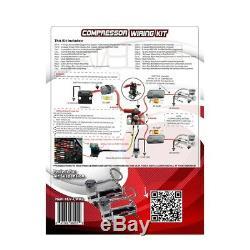 Kit De Câblage Pour Double Compresseur D'air Evolve De Avs Air Ride Suspension