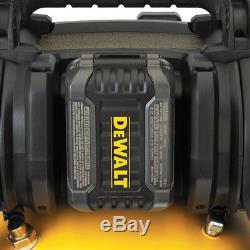 Kit De Compresseur D'air Sans Fil Flexvolt Dcc2560t1 60 Volts Max Dewalt