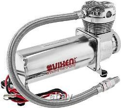 Kit De Suspension D'air Pour Camion/sac De Voiture/ride, Double Compresseur, Réservoir En Aluminium 5g