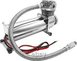Kit/système De Suspension Pneumatique Pour Camion/sac De Voiture/ride/lift, Double Compresseur, Réservoir 5g