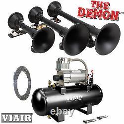 Kleinn 730 Air Horn The Demon Train Horn Avec Viair 20005 150psi Air Kit 158 Db