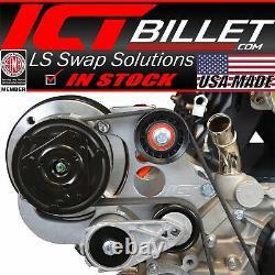 Ls Camion R4 A / C Climatiseur Compresseur Bracket Kit Suv Lsx Ac (ls3 Camaro)