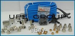 Maxline Comprimé Respiratoire Système De Tuyauterie Principale Kit 1/2 Tuyau X 100 Ft M3800