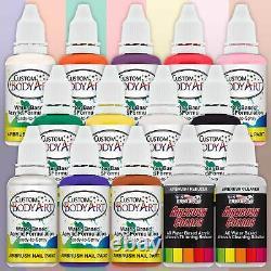 Nail Art Airbrush Kit-set-air Compresseur-peinture-20pk Stencil Design Dual Action