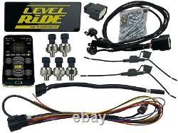 Niveau Ride Preset Pression Et Airmaxxx Air Management 580 Chrome Et Réservoir Brossé