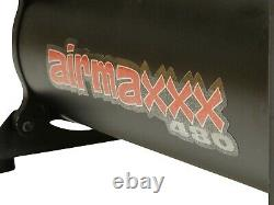 Noir Compresseur D'air Avec Filtre D'admission D'air Relocator Airmaxxx 480 180 Livres Par Pouce Carré Kit