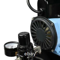 Nouveau Kit Master Air Compresseur D'air Avec 0.2/0.3/0.35/0.8mm Aérographes