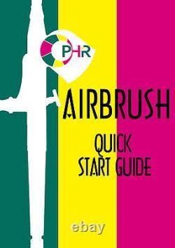 Ophir Airbrush Kit Compresseur D'air Avec Réservoir Pour Le Modèle Hobby Crafts 3 Aérographes