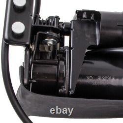 Paire Air Suspension Shocks+compressor Pump Kit For Escalade Suburban Tahoe Yukon