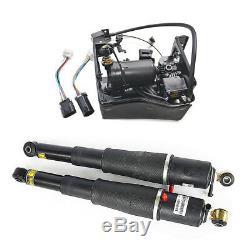 Paire Arrière Suspension Air Shock & Kit Compresseur Pour 2002-2014 Chevy Tahoe
