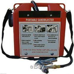 Portable Sandblaster Kit Blaster Kit Blasting Gun 30 Capacité