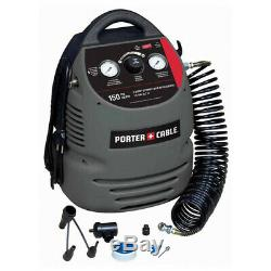 Porter-cable 0,8 HP 1,5 Gal. Kit De Compresseur Sans Huile Cmb15 Nouveau