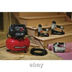 Porter-cable 3-tool Finish Nailer & Brad Nailer Combo Kit Pcfp12234 Nouveau