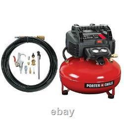 Porter-cable C2002-wk 150psi 6-gallon 120volt Sans Huile Compresseur De Pancake