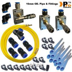 Pro Series Hiflow Workshop Air Line Starter Kit-air Line Fittings-9m Kit-wf 02