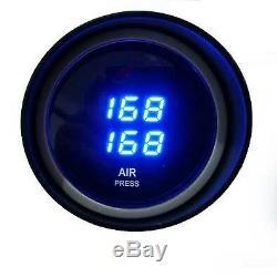 Px01 Digital In Cab Kit Air Bag Suspension Compressor Gauge Led Commutateurs Elec