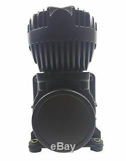 Sac À Suspension Pneumatique Compresseurs D'air 580 Blk 180psi Off Commutateur De Pression Et Filtre