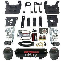 Sac De Remorquage Air Kit Controls Noir Compresseur Et Réservoir Pour 2011-16 Ford F250 F350 4x4