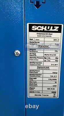 Sécheur Compresseur D'air Comprimé Réfrigéré Schulz 75 Cfm 115v, Kit Complet