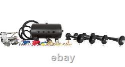 Spécial Hornblasters Chef D'orchestre 540 Air Horn Fort Train Kit Avec Compresseur Viair
