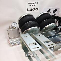 Suspension Pneumatique Avec Compresseur Kit Pour Mitsubishi L200 4wd 1991-2006 4000 KG