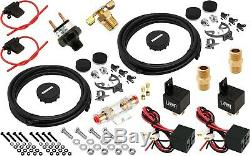 Suspension Pneumatique Kit / Système Pour Camion / Voiture Sac / Tour / Lift, Double Compresseur, 4g Réservoir