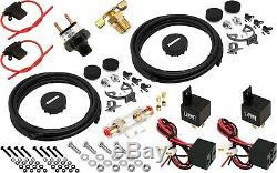 Suspension Pneumatique Kit / Système Pour Camion / Voiture Sac / Tour / Lift, Double Compresseur, 5g Réservoir